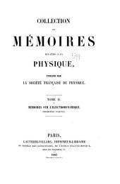 Collection de mémoires relatifs à la physique: Les idées mòdernes sur la constitution de la matière: conférence ... 1912