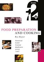 Food Preparation and Cooking  Levels 1   2 PDF
