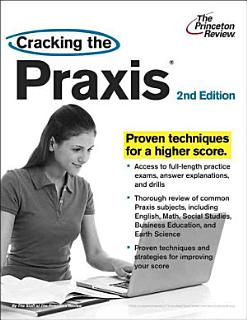 Cracking the Praxis  2nd Edition Book
