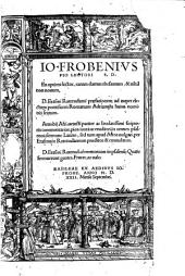 Commentarii in omnes psalmos