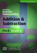 Developing Essential Understanding of Addition and Subtraction for Teaching Mathematics in Prekindergarten grade 2 PDF