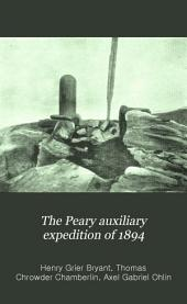 The Peary Auxiliary Expedition of 1894