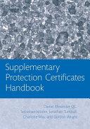 Supplementary Protection Certificates Handbook