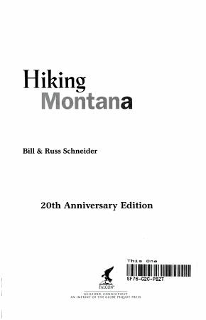 Hiking Montana PDF