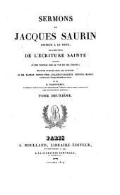 Sermons sur divers textes de l'écriture sainte