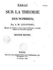 Essai sur la théorie des nombres