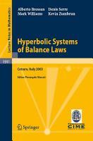 Hyperbolic Systems of Balance Laws PDF