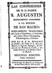 Las confesiones de A. G. Padre S. Augustin: Volumen 3