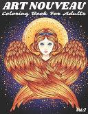Art Nouveau Coloring Book For Adults Vol PDF