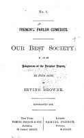 Our Best Society PDF