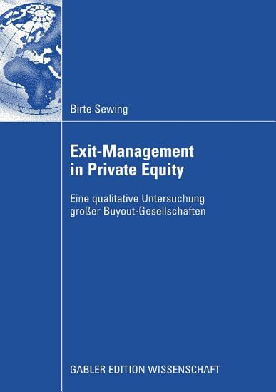 Exit Management in Private Equity PDF
