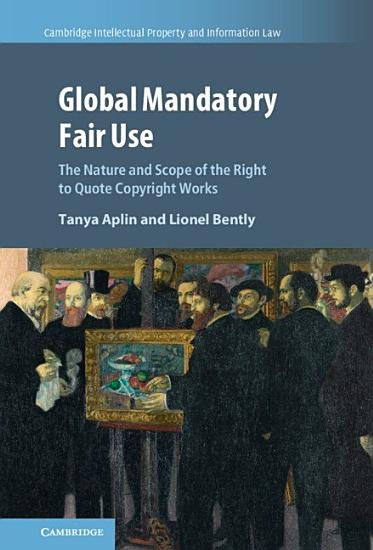 Global Mandatory Fair Use PDF