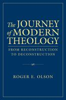 The Journey of Modern Theology PDF