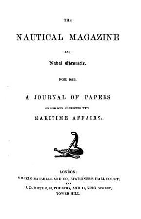 The Nautical Magazine and Naval Chronicle PDF