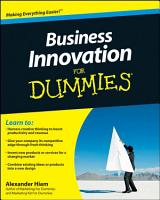 Business Innovation For Dummies PDF