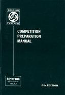 Triumph Spitfire Competition Preparation Manual