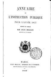Annuaire de l'instruction publique