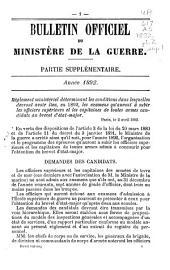 Bulletin officiel de la guerre: Partie2