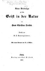 Der Geist in der Natur PDF