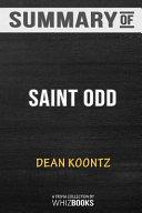 Summary of Saint Odd  An Odd Thomas Novel by Dean Koontz  Trivia Quiz for Fans