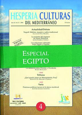 Hesperia N  4 Egipto Culturas del Mediterr  neo