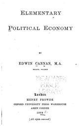 Elementary Political Economy