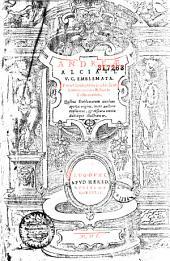 Andreae Alciati V. C. Emblemata