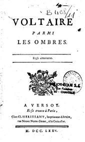 Voltaire parmi les ombres