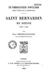 Saint Bernardin de Sienne: 1382-1444