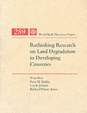 Rethinking Research on Land Degradation in Developing Countries PDF