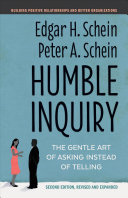 Humble Inquiry  Second Edition Book