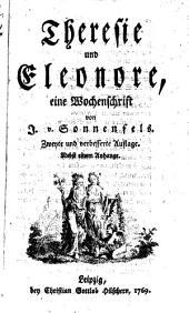 Theresie und Eleonore: eine Wochenschrift