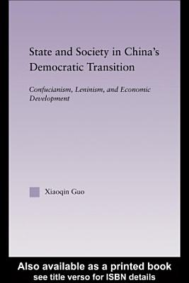 State and Society in China s Democratic Transition PDF