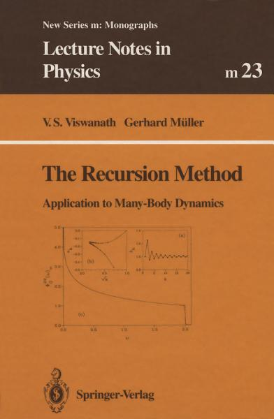 Download The Recursion Method Book