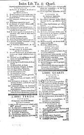Pauli Zacchiae ... Quaestionum medico-legalium tomus primus [-tertium] ...: Volume 1