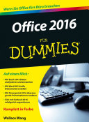 Office 2016 f  r Dummies PDF