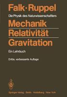 Mechanik  Relativit  t  Gravitation PDF