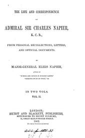 The life and correspondence of admiral sir Charles Napier