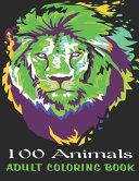 100 Animals Adult Coloring Book PDF