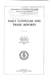 Daily Consular and Trade Reports: Issues 77-153