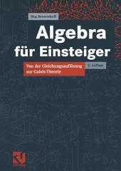 Algebra für Einsteiger: Von der Gleichungsauflösung zur Galois-Theorie, Ausgabe 2