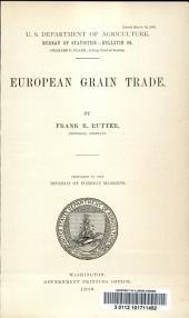 European grain trade
