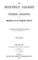 THE MONTHLY PACKET OF EVENING READINGS PDF