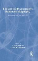 The Clinical Psychologist s Handbook of Epilepsy PDF