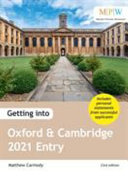 Getting Into Oxford and Cambridge 2021 Entry