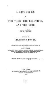 Lectures on the True  the Beautiful  and the Good PDF
