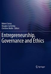 Entrepreneurship, Governance and Ethics