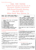 Aviation Space and Environmental Medicine