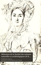 Mémoires de la Société des sciences naturelles et archéologiques de la Creuse, Guberet: Volume13