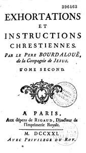 Exhortations et Instructions chrestiennes